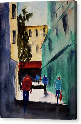 Hang Ah Alley1 Canvas Print by Tom Simmons