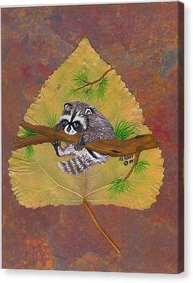 Hang On Canvas Print