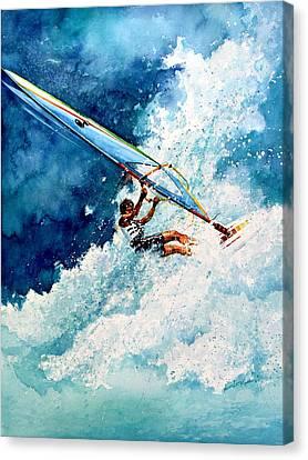 Hang Ten Canvas Print