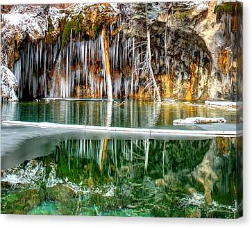 Hanging Lake 2 Canvas Print