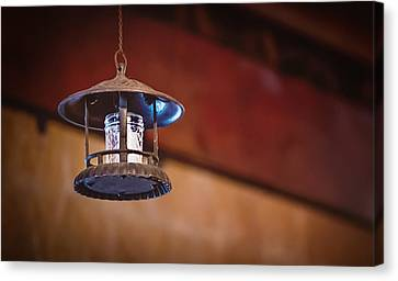 Canvas Print featuring the photograph Hanging Lantern by April Reppucci