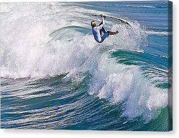 Canvas Print featuring the photograph Hanging On by Ron Dubin