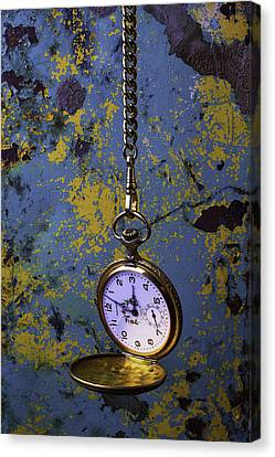 Hanging Watch Canvas Print by Garry Gay