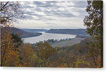 Hanover College View Canvas Print by Sandy Keeton