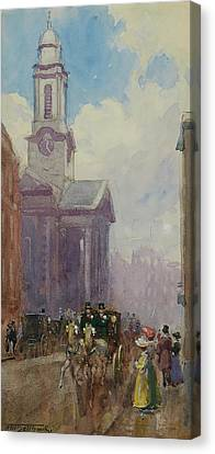St. George Temple Canvas Print - Hanover Square by Frederic