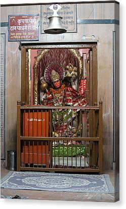 Hanuman Ji, Neem Karoli Baba Ashram, Vrindavan Canvas Print