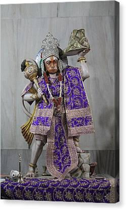Hanuman Ji, Neem Karoli Baba, Vrindavan Canvas Print