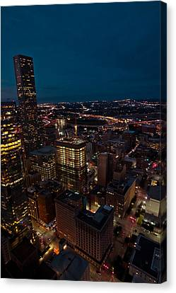 Happiness On The 45th Floor Canvas Print