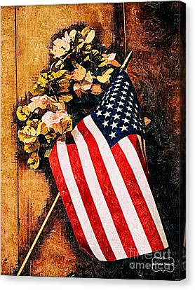 Happy 4th Of July Canvas Print