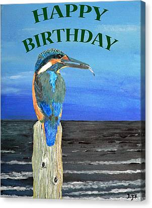 Happy Birthday Canvas Print by Eric Kempson
