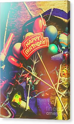 Happy Birthday Canvas Print by Jorgo Photography - Wall Art Gallery