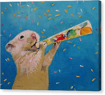Happy New Year Canvas Print by Michael Creese