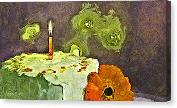 Happy Birthday - Pa Canvas Print by Leonardo Digenio