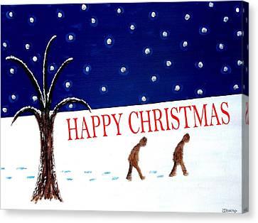 Happy Christmas 15 Canvas Print by Patrick J Murphy
