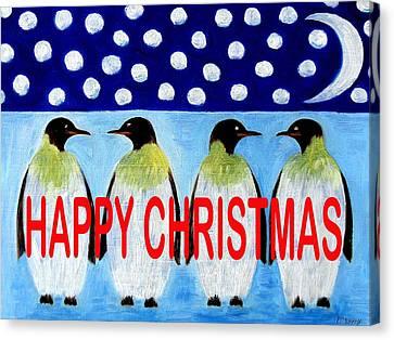 Happy Christmas 24 Canvas Print by Patrick J Murphy
