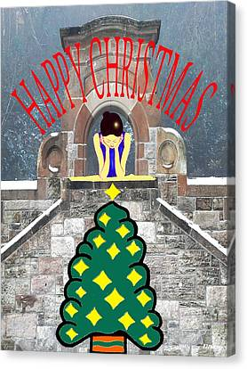 Happy Christmas 31 Canvas Print by Patrick J Murphy