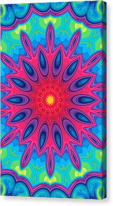 Happy Colors Canvas Print by Art Dreams