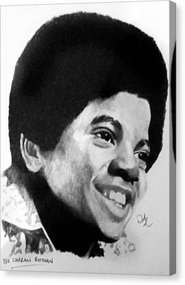 Jackson 5 Canvas Print - Happy by Darran Rothan