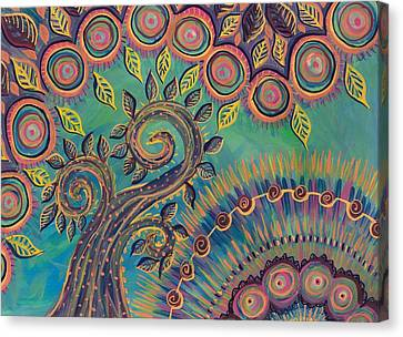 Canvas Print - Happy Day by Cherie Sexsmith
