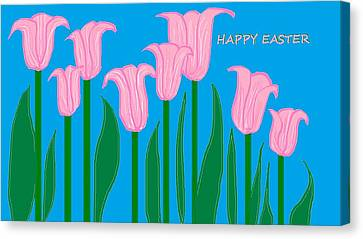 Happy Easter 1 Canvas Print