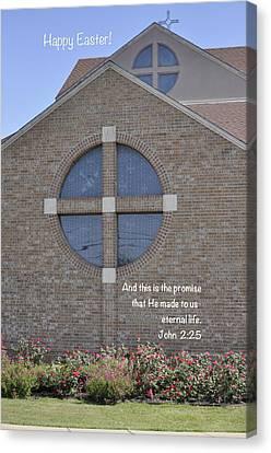 Happy Easter IIi Canvas Print