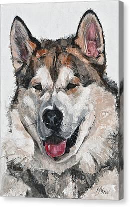 Happy Friend Canvas Print