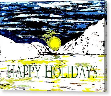 Happy Holidays 82 Canvas Print by Patrick J Murphy