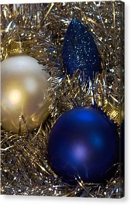 Happy Holidays Card 02 Canvas Print by Karen Musick