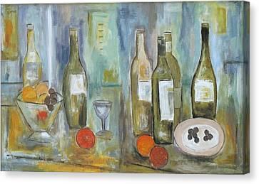 Happy Hour II Canvas Print by Trish Toro
