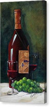 Happy Hour  Canvas Print by Mary DuCharme