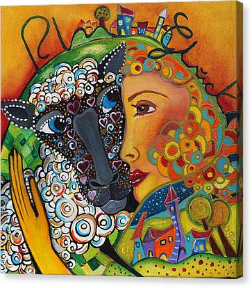 Happy Life Canvas Print by Jeanett Rotter