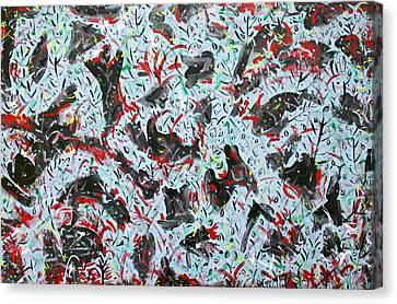 Happy Mix 1 Canvas Print by Biagio Civale