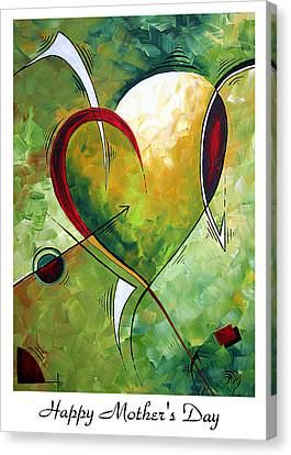 Happy Mother's Day By Madart Canvas Print
