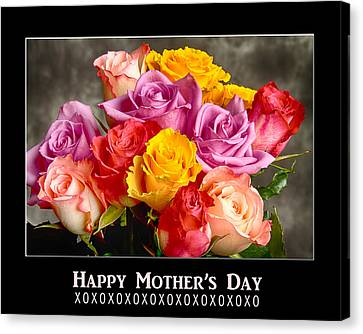 Happy Mother's Day Canvas Print by James BO  Insogna