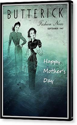 Happy Mother's Day Canvas Print by Patrice Zinck