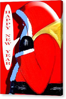 Happy New Year 4 Canvas Print by Patrick J Murphy