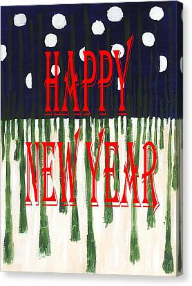 Happy New Year 92 Canvas Print by Patrick J Murphy