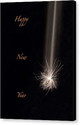 Happy New Year Canvas Print - Happy New Year by Don Spenner