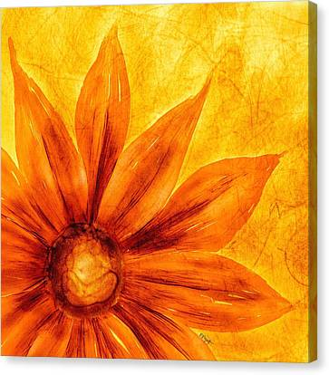 Happy Petals Canvas Print by Brenda Bryant