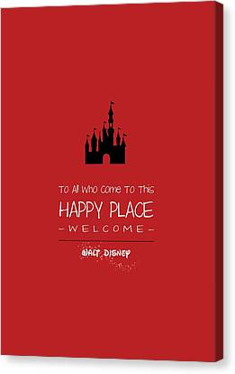 Happy Place Canvas Print by Nancy Ingersoll