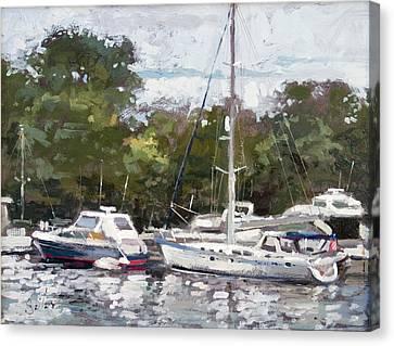 Hapuna Maru Canvas Print by Larry Seiler