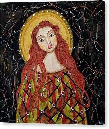 Harachel Canvas Print by Rain Ririn