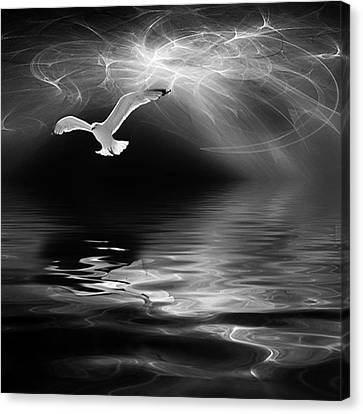 Fantasy Canvas Print - Harbinger by John Edwards