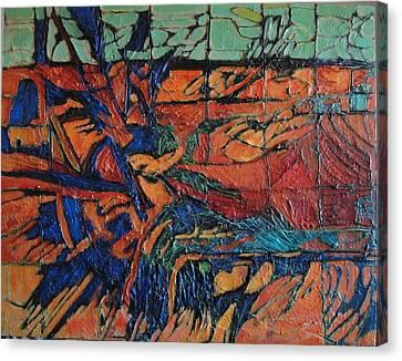 Harbingers Canvas Print by Bernard Goodman