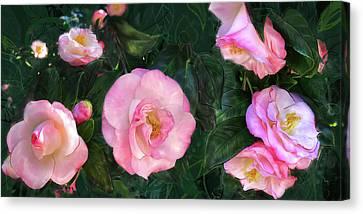 Harbingers Of Spring Canvas Print