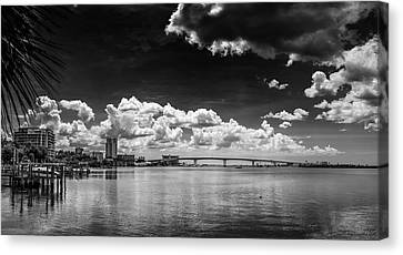 Harbor Bluffs Canvas Print by Marvin Spates