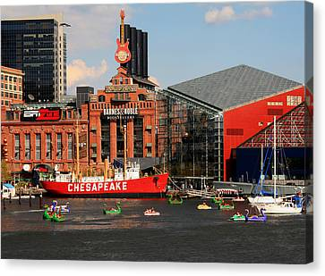 Harbor Fun Canvas Print