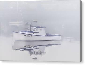 Harbor Mist   Canvas Print by Thomas Schoeller