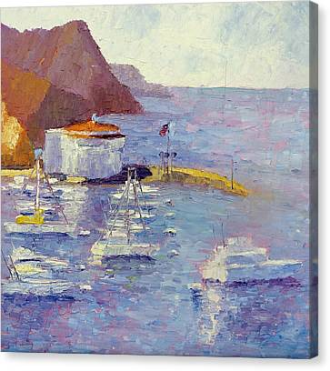 Harbor View Canvas Print by Terry  Chacon