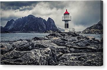Harbour Lighthouse Canvas Print